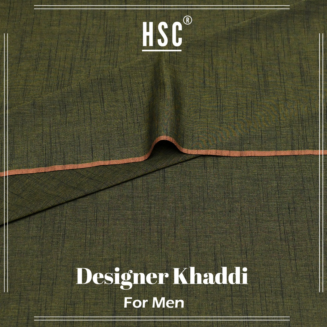 Pure Cotton Designer Khaddi For Men - DK1