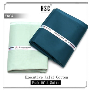 Executive Kalaf Cotton (2 Suits) - EKC7