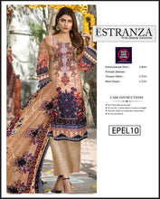 Load image into Gallery viewer, Estranza Embroidered Karandi Wool  - EPEL10