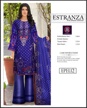 Load image into Gallery viewer, Estranza Embroidered Karandi Wool  - EPEL12