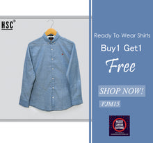 Load image into Gallery viewer, Dots Jaquard RTW Casual Shirt For Men - FJM15