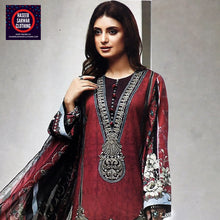 Load image into Gallery viewer, Farasha Embroidered Linen Wool - FSE3