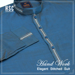 Elegant Ready To Wear Stitched Suit For Men - RTW33