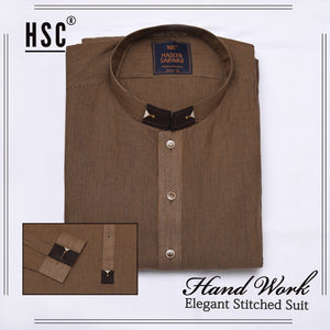 Elegant Ready To Wear Stitched Suit For Men - RTW36
