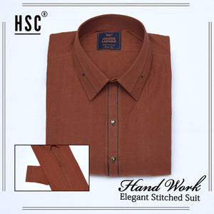 Elegant Ready To Wear Stitched Suit For Men - RTW38