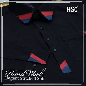 Elegant Ready To Wear Stitched Suit For Men - RTW49