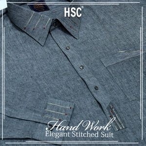 Elegant Ready To Wear Stitched Suit For Men - RTW55