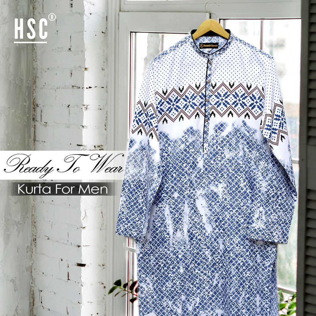 Elegant Ready To Wear Stitched Kurta For Men - RTW62