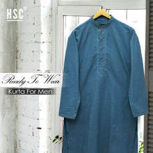 Load image into Gallery viewer, Elegant Ready To Wear Stitched Kurta For Men - RTW63