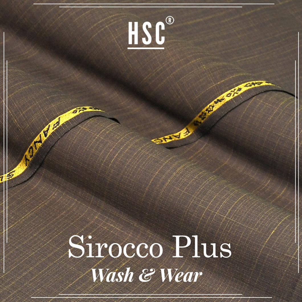 Sirocco Plus Blended Wash&Wear For Men - SPW5