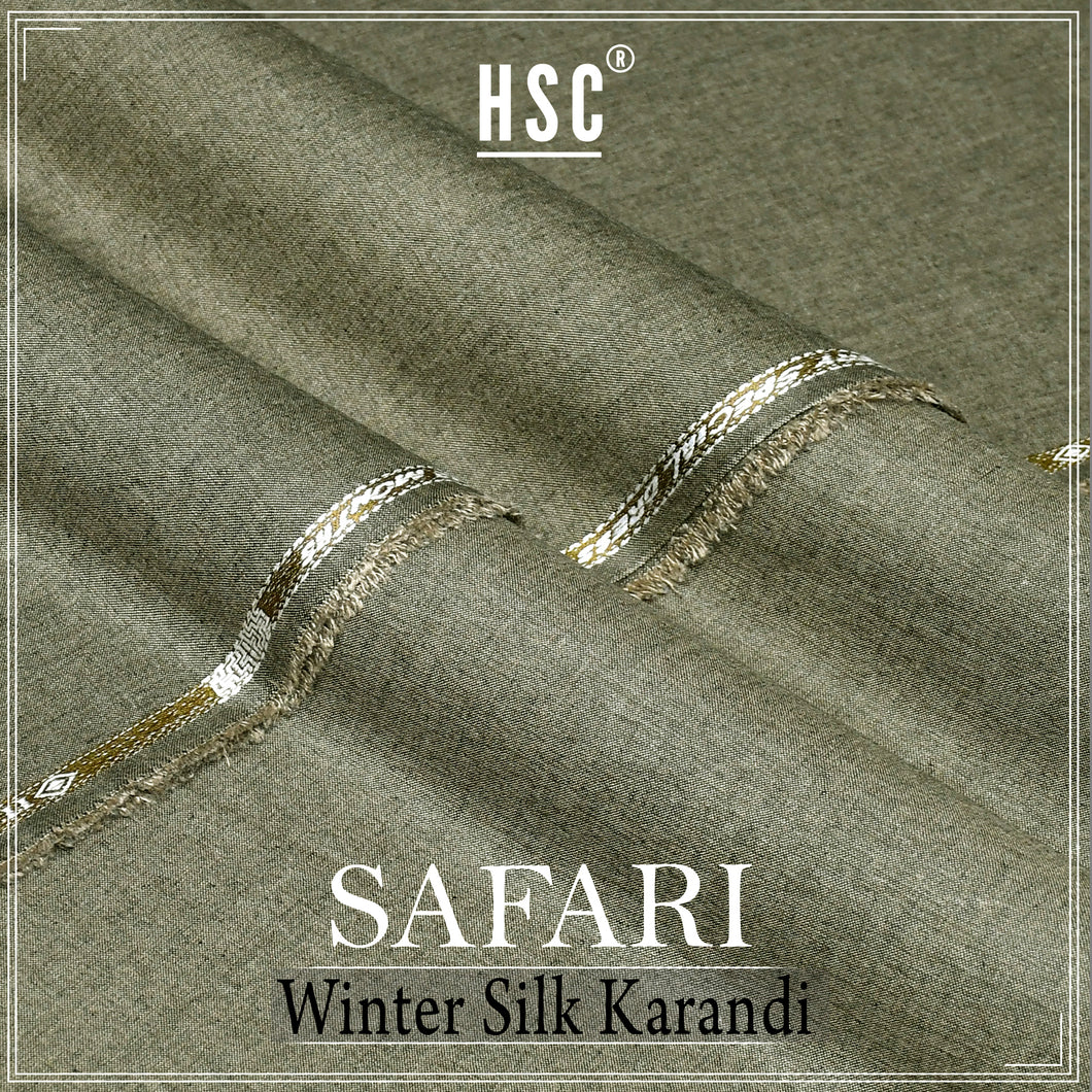 Safari Silk Karandi For Winters - SWK2