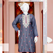 Load image into Gallery viewer, Embroider Stitched Viscose Silk Kurti - WSVK2