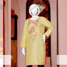 Load image into Gallery viewer, Embroider Stitched Viscose Silk Kurti - WSVK6