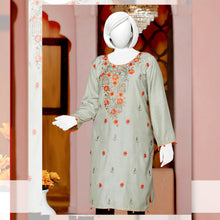 Load image into Gallery viewer, Embroider Stitched Viscose Silk Kurti - WSVK9
