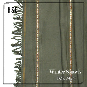 Winter Shawl For Men - WSW3