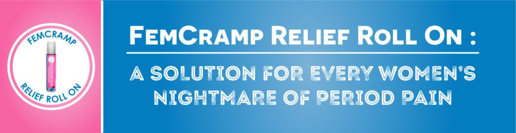 FemCramp Relief Roll On : A solution for every women's nightmare of period pain