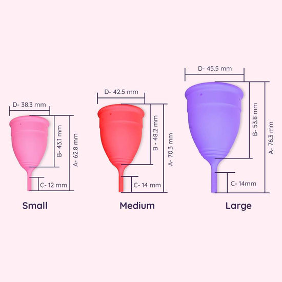 Perfect Fit Duo - II - Medium + Large Menstrual Cups
