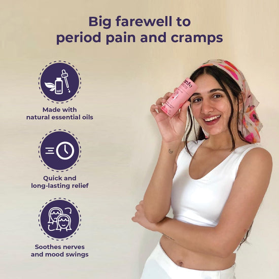 Feminine Cramp Relief Roll On