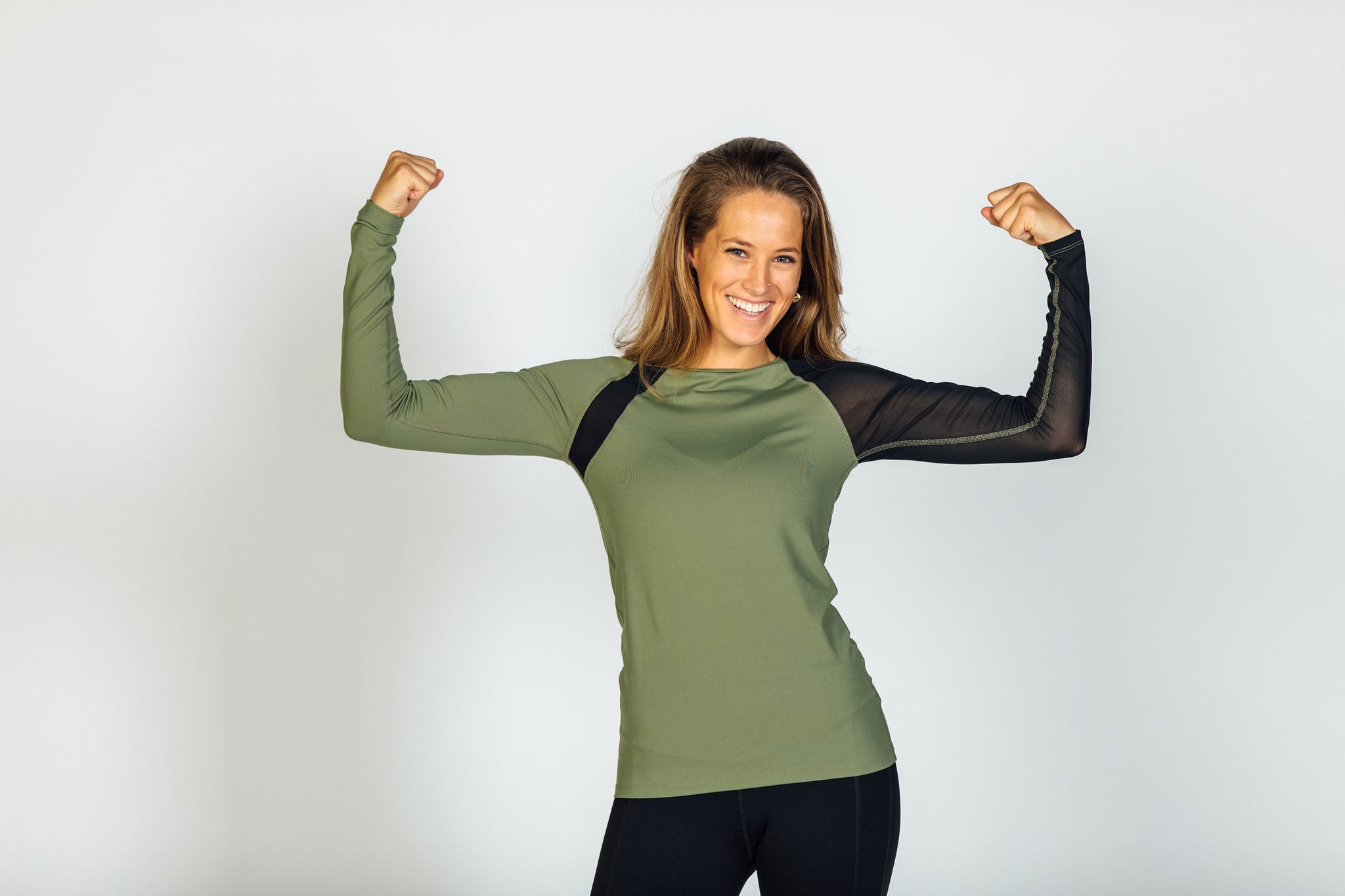 Gladiatrix Long Sleeve Army Green