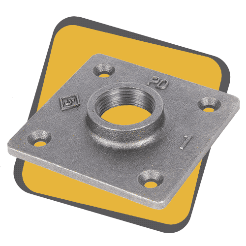 square flange icon