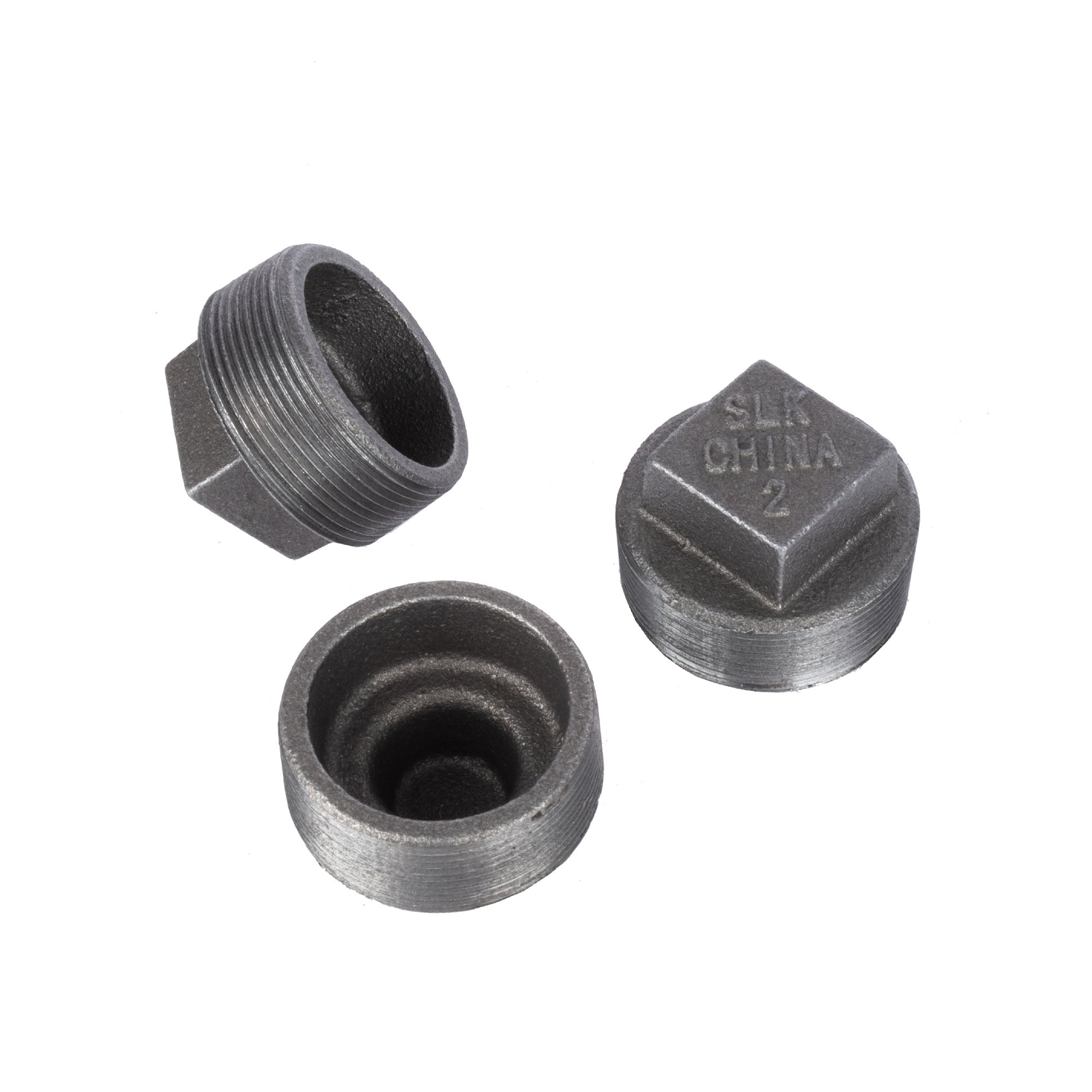 2 In Black Plug - Pipe Decor