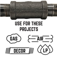 Load image into Gallery viewer, 1/2 in. X 3/8 in. Reducing Coupling - Pipe Decor
