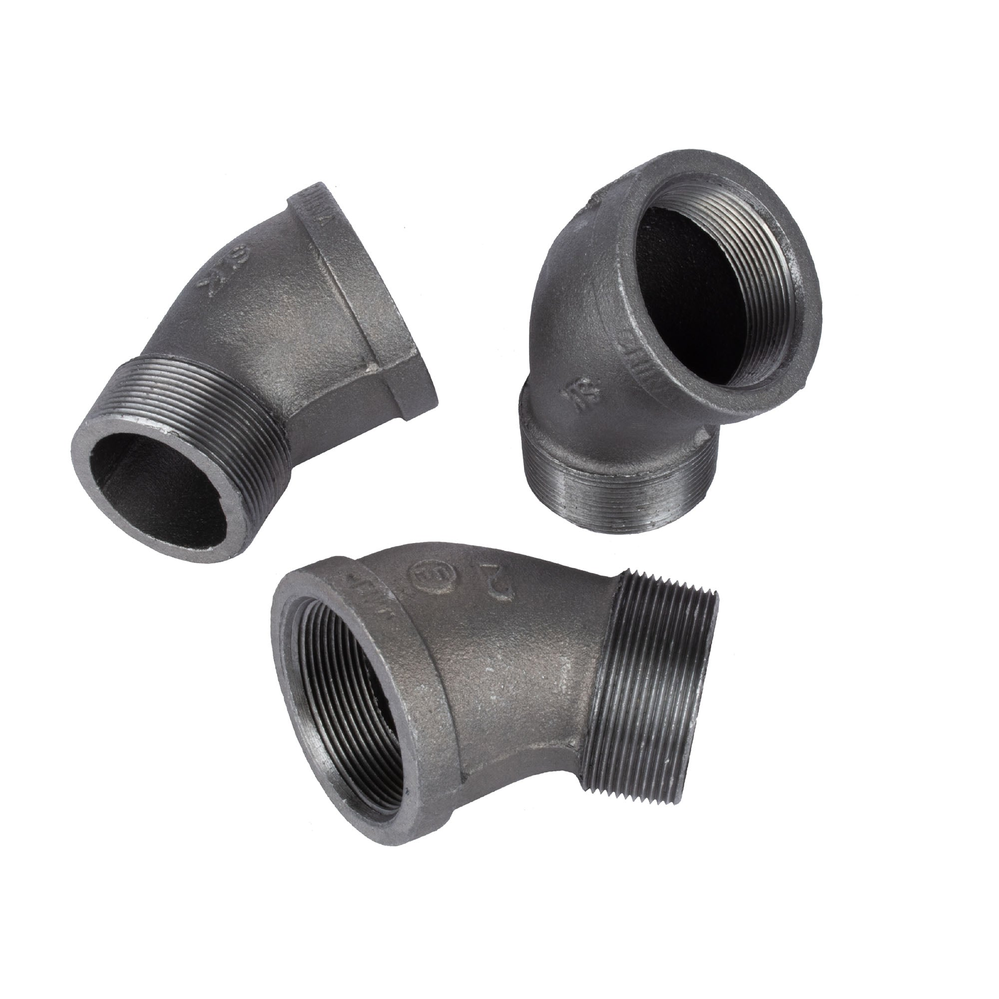 2 In 45 Street Elbow - Pipe Decor