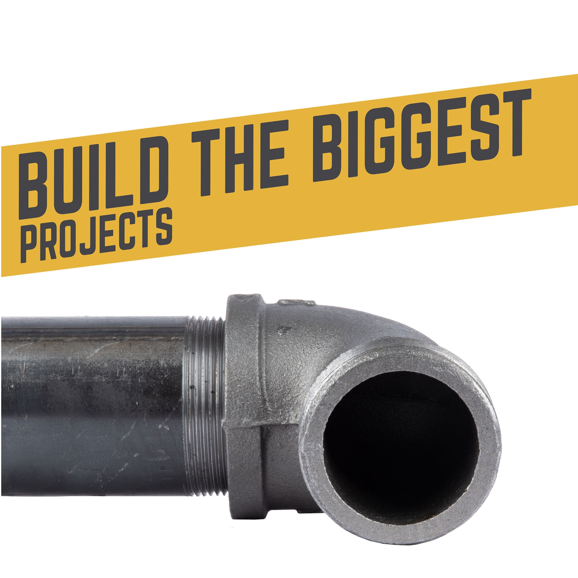 2 In 90 Degree Street Elbow - Pipe Decor