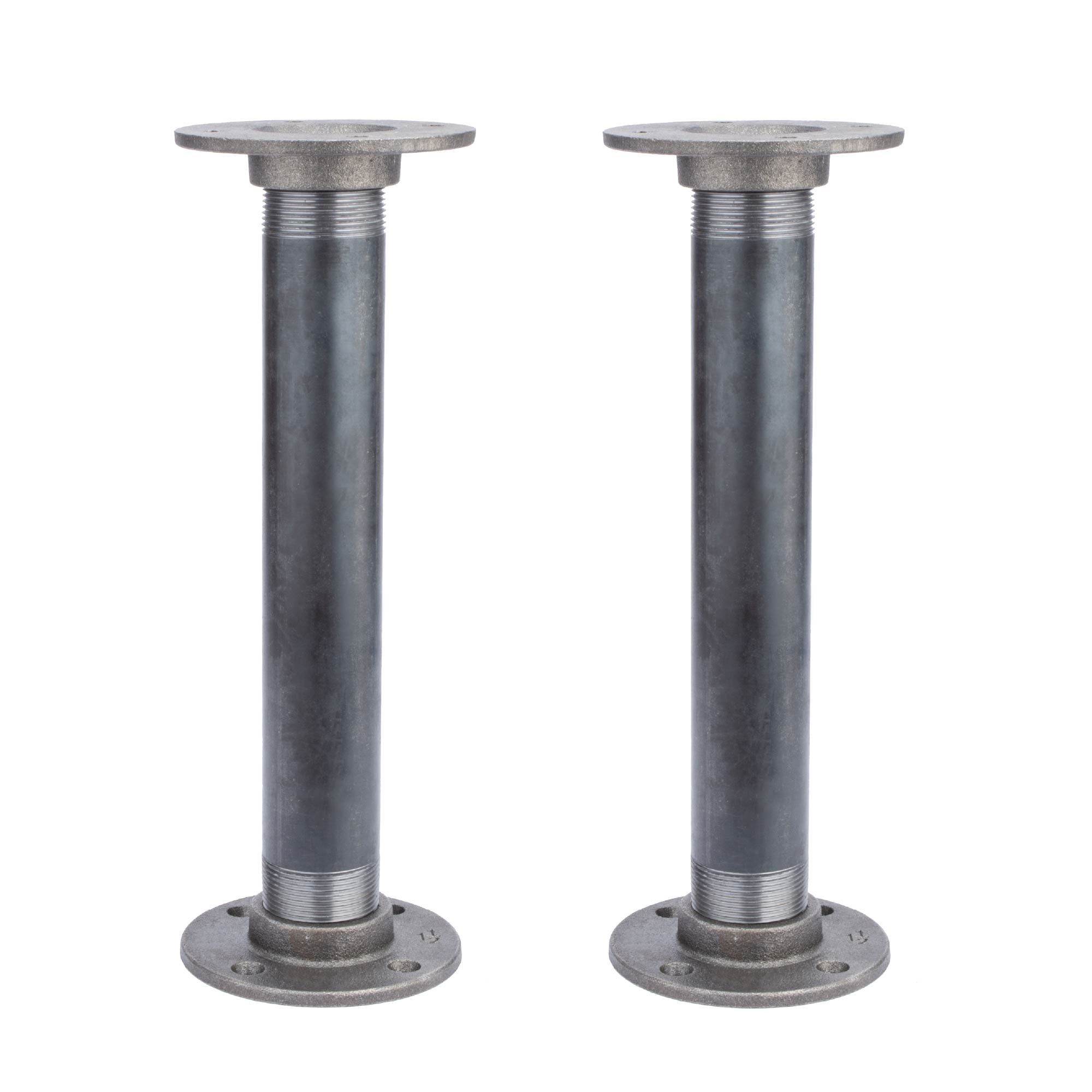 1 1/2 in. x 12 in. Flange legs - 2 Pack
