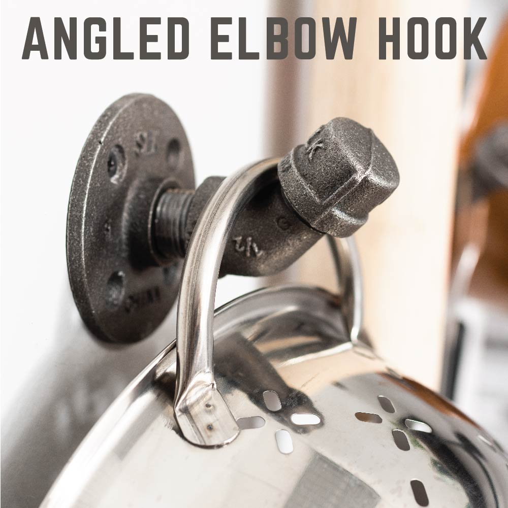 Wall Hook 4 Pack By PIPE DECOR