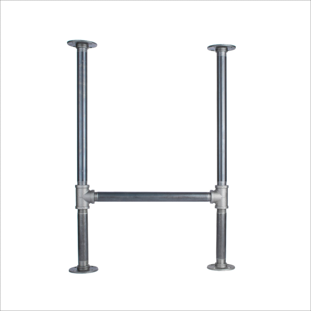1 in. Heavy Duty H Desk Leg - 1 Pack