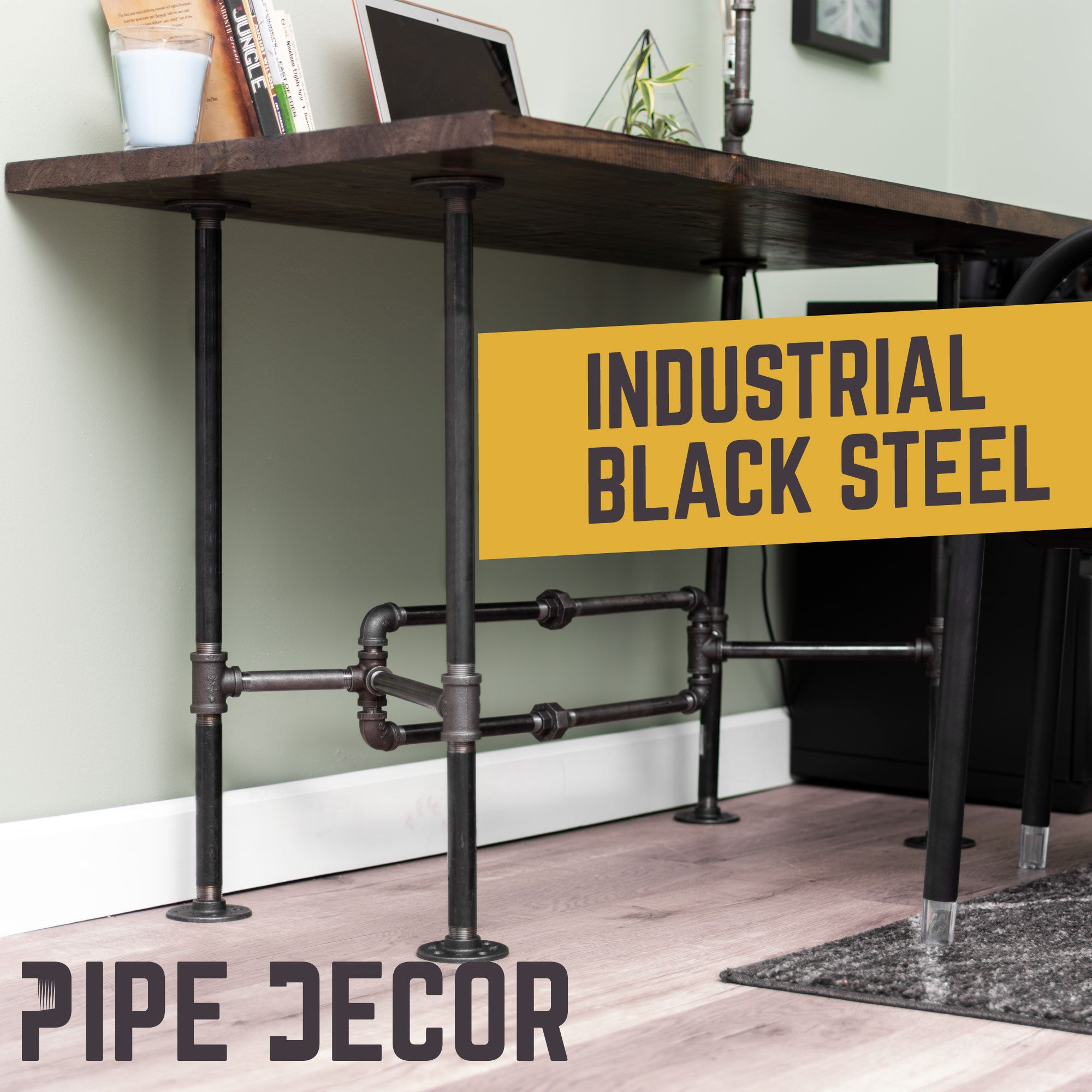 O Design Desk By PIPE DECOR