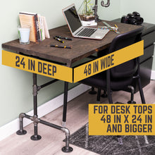 Load image into Gallery viewer, M Design Desk By PIPE DECOR