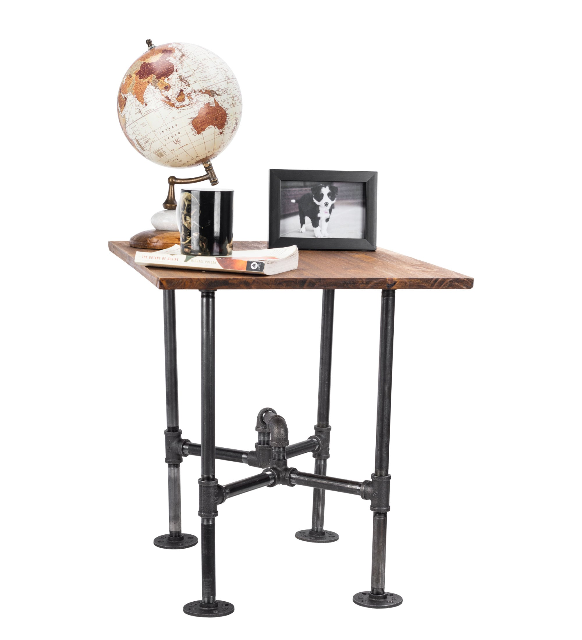 Underpass End Table By PIPE DECOR