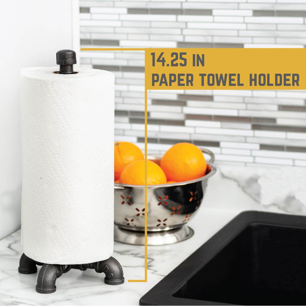 Paper Towel Holder By PIPE DECOR
