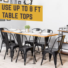 Load image into Gallery viewer, Poker Kitchen Table By PIPE DECOR