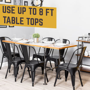 Poker Kitchen Table By PIPE DECOR