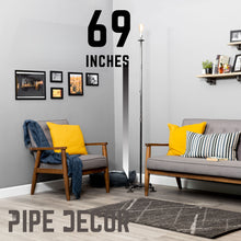 Load image into Gallery viewer, Torch Floor Lamp By Pipe Decor