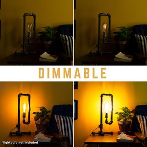 Convertible Table Lamp By Pipe Decor