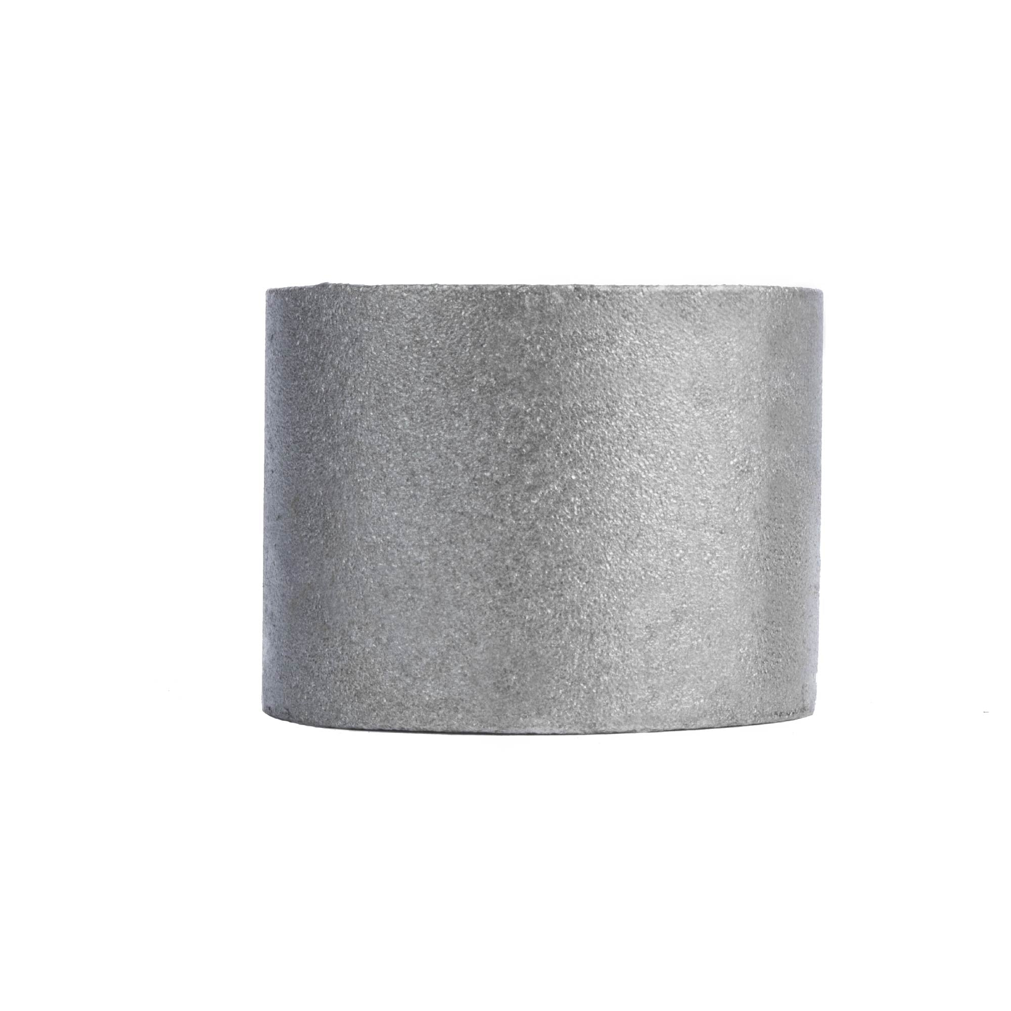 2 in. Black merch coupling - Pipe Decor