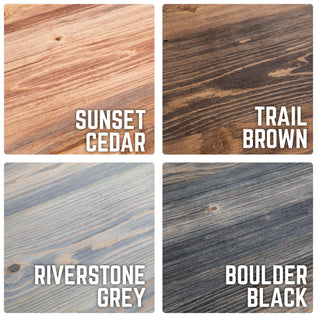 4 Amazing Stain Colors