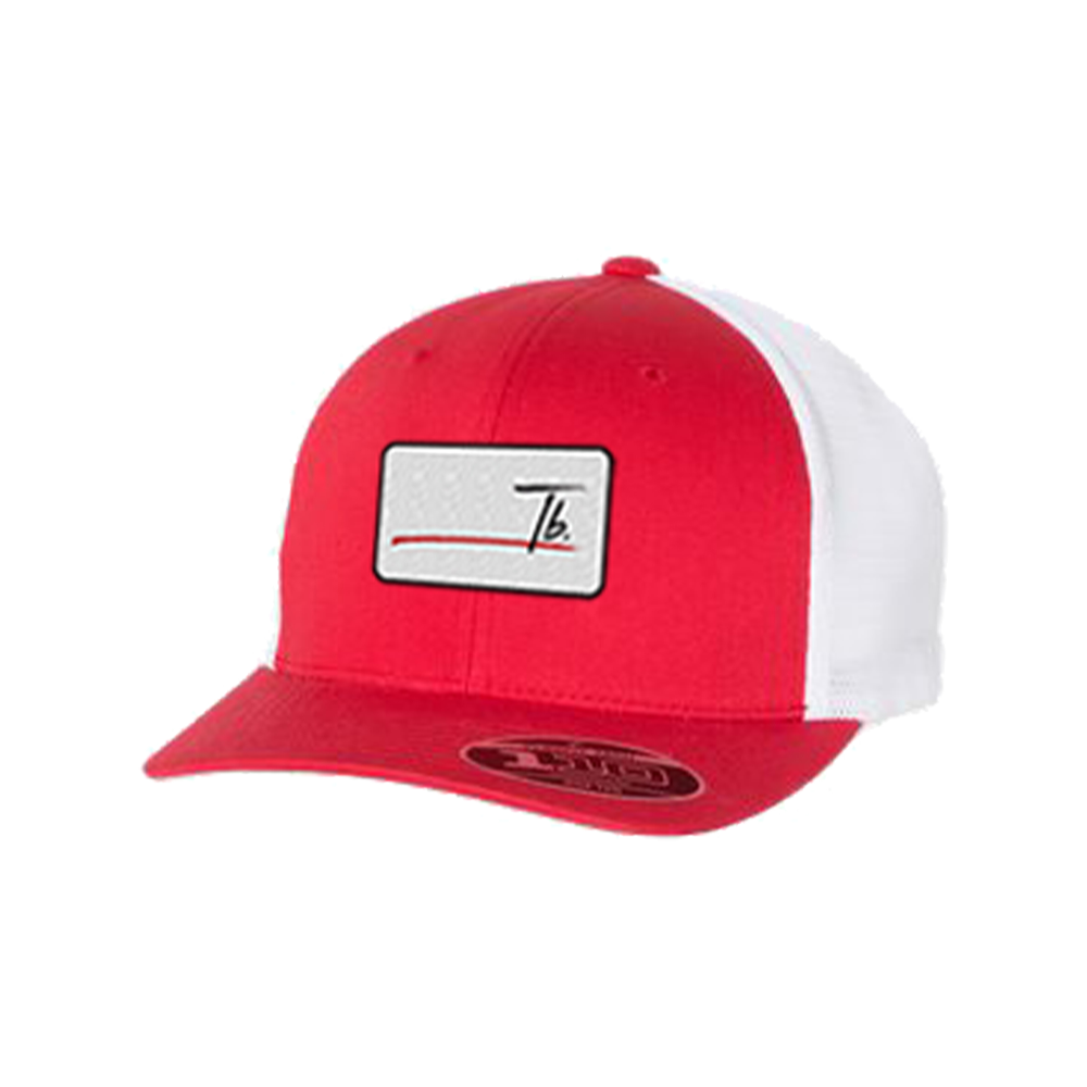 Red Stripe Logo hat