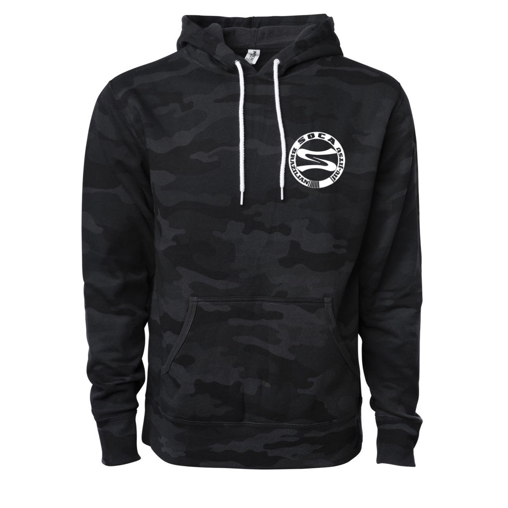 SocaBJJ Camo Pullover Hoodie