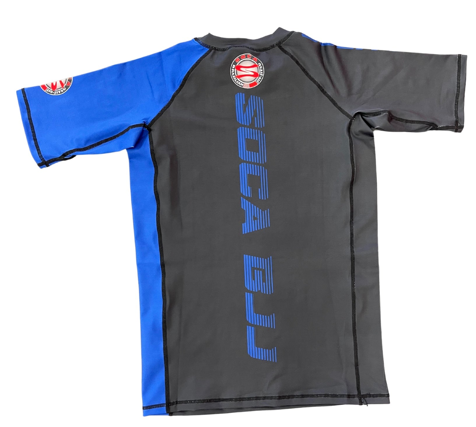 Short Sleeve SBJJ Belt Color Rash Guard