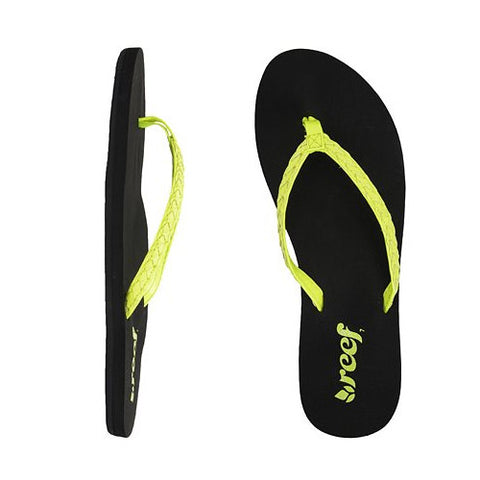 Reef Twisted Stars Brights Neon Yellow 8.0