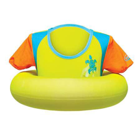 SwimWays Swim Sweater Lime/Orange