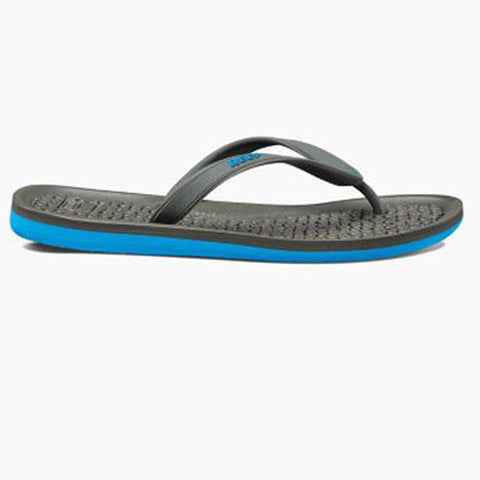 Reef Mens G-Land Charcoal Blue 9.0