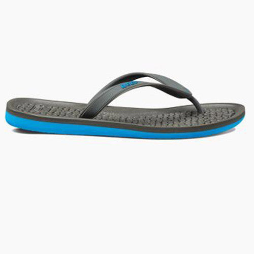 Reef Mens G-Land Charcoal Blue 7.0