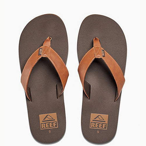 Reef Mens Twinpin Brown 10.0