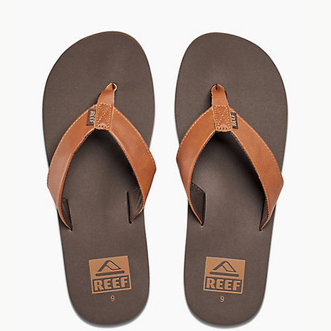 Reef Mens Twinpin Brown 7.0